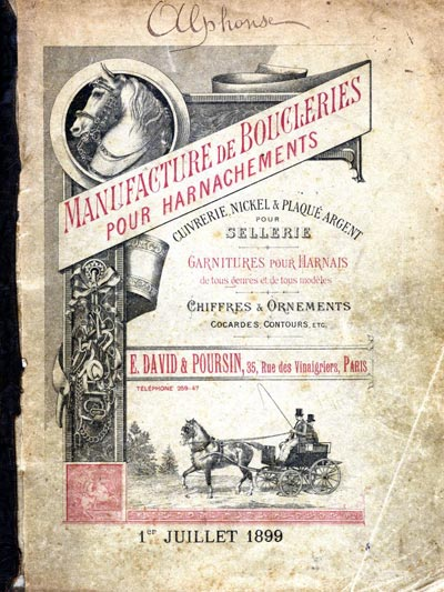 premiere page du catalogue cheval